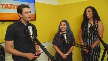 Seattle hosts of 'The Glow Up Podcast' stop by KING 5