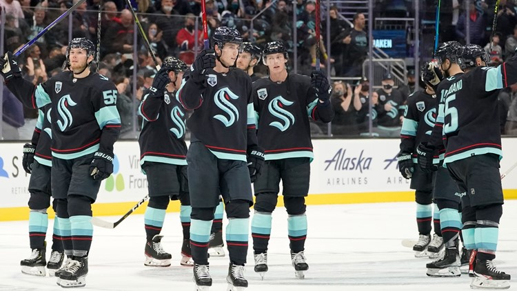 Kraken rout: Seattle topples Montreal 5-1 for first home win