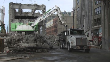 Viaduct demolition brings the end of an era to Seattle's waterfront
