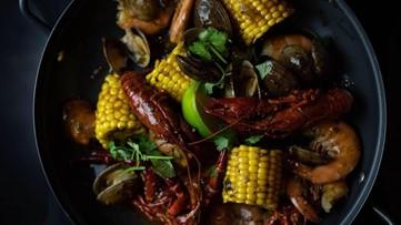 Krawbar's Asian-Cajun Crawfish Boil