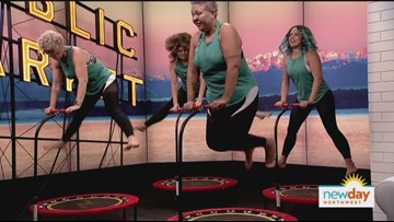 Bounce your way through a workout - New Day Northwest