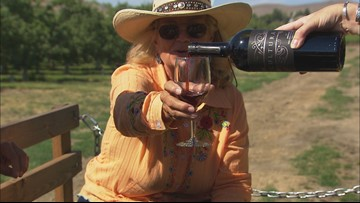 Wine tasting aboard a 'cowboy limo' in Yakima County