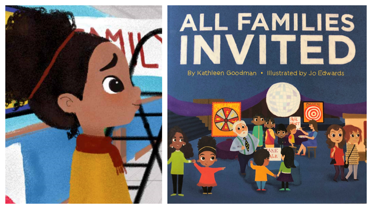Kathleen Goodman celebrates all types of families in 'All Families Invited'