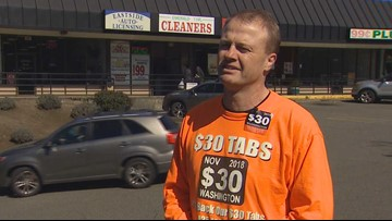 Eyman pushes $30 car tabs after Washington overcharged hundreds of drivers