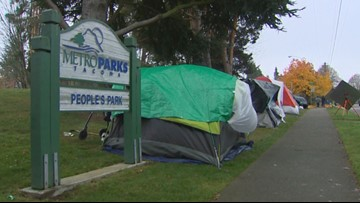 Tacoma delays ban on tents in public parks