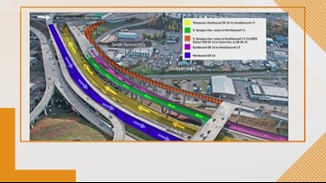 I-5 ramp closures planned in Tacoma