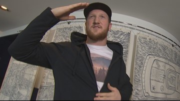 Seahawks tight end turns fashion designer - KING 5 Evening