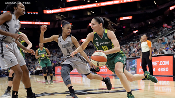 Sue Bird's knee surgery doesn't stand between her and the Seattle Storm