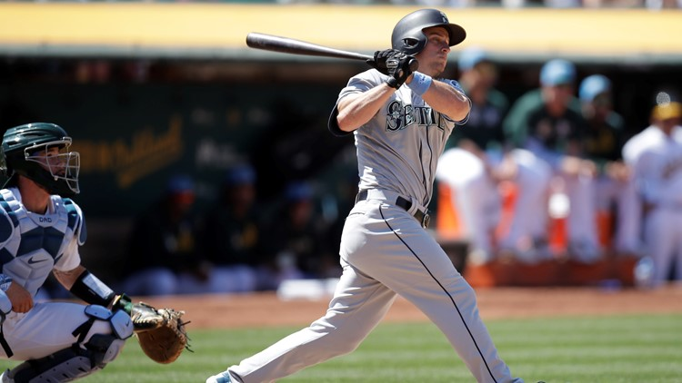 Seager, Mariners rally in 8th to beat Athletics 6-3