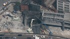 Viaduct demolition comes within feet of Seattle buildings