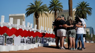 Las Vegas remembers victims two years after the mass shooting that killed 58