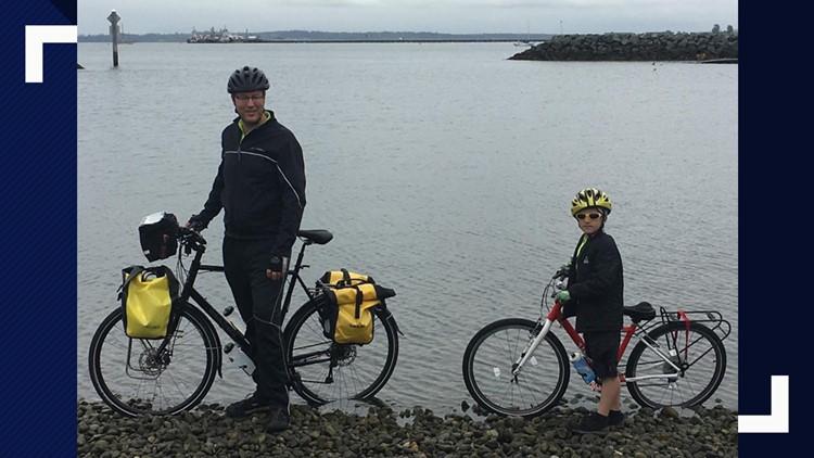 Kenmore dad, son embark on 3,590-mile bicycle trip
