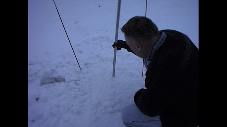 Measuring snowfall