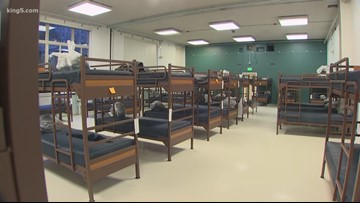 King County prepares to open 24-hour homeless shelter