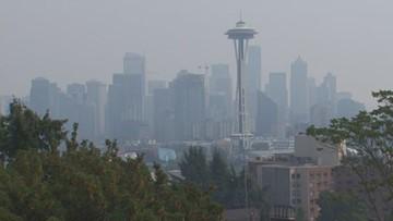 Warm temps, wildfire smoke possible for western Washington next week