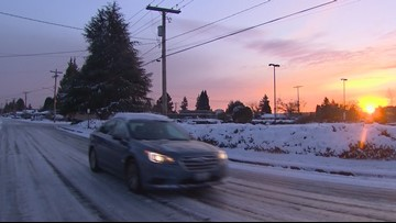 'Drivers not prepared' for snow and ice advised to stay at home