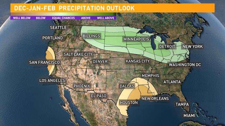 Winter Outlook for Rainfall