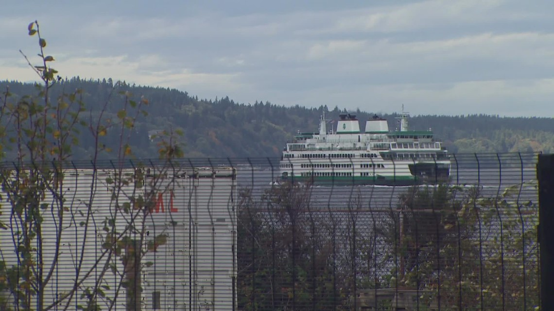 Washington State Ferries begin operating on reduced schedule