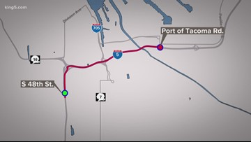 I-5 speed limits lowered after semi crashes