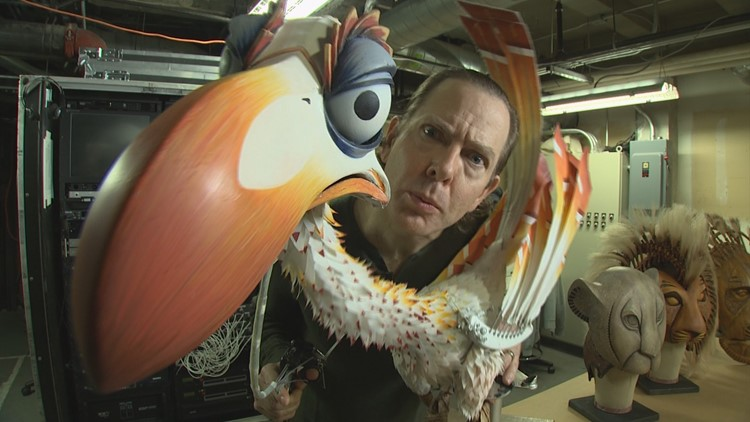 "Zazu's secrets revealed at ""The Lion King"""