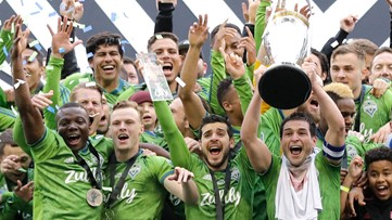 How to watch the Sounders MLS Cup victory parade and rally in Seattle on Tuesday