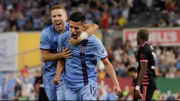 NYC scores 3 second-half goals, beats Sounders 3-0