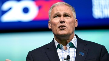 Jay Inslee ends presidential bid, officially seeking 3rd term as governor