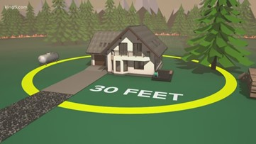How to protect your home from wildfires in Western Washington
