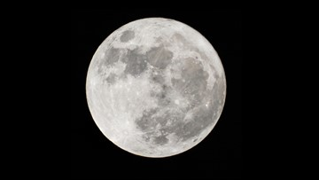 Northwest interior to see clear skies for seasonal blue moon Saturday