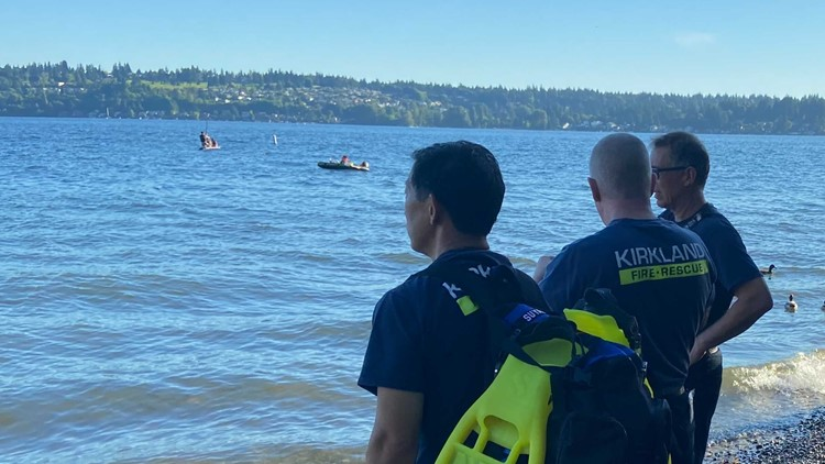 1 person missing in waters off Kirkland's O.O. Denny Park