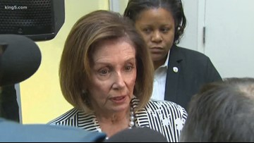 Speaker Pelosi in Seattle: Trump 'snubbing his nose at the vision of our founders'