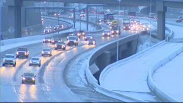 Schools delayed, closed as freezing temps cause slick roads