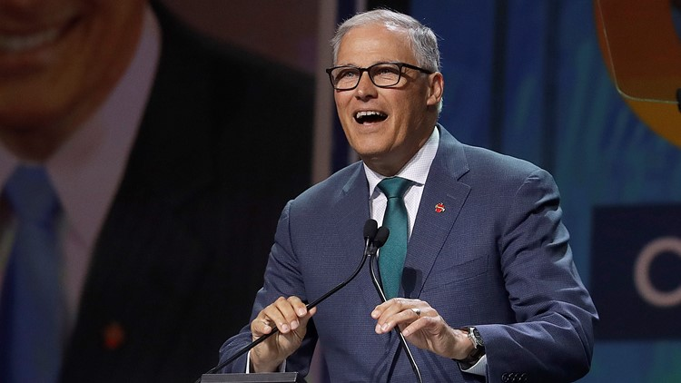 Jay Inslee scheduled for first 2020 Democratic presidential debate