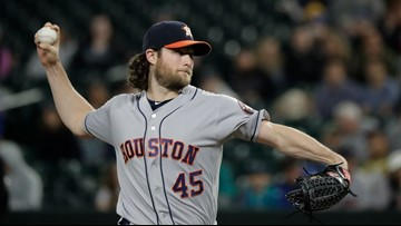 Cole wins 15th straight decision, Astros beat Mariners 3-0