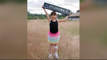 Puyallup girl returns to dance after pediatric stroke