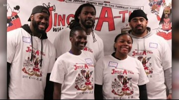 Seahawks newcomer Jadeveon Clowney takes kids impacted by incarceration holiday shopping