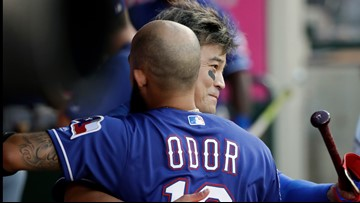Odor snaps out of slump as Rangers beat Mariners 6-3
