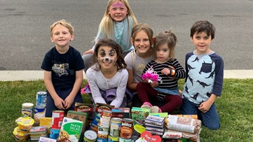 Elementary School students pay it forward through acts of kindness