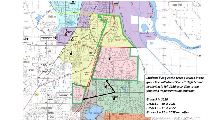 cascade high school boundary changes