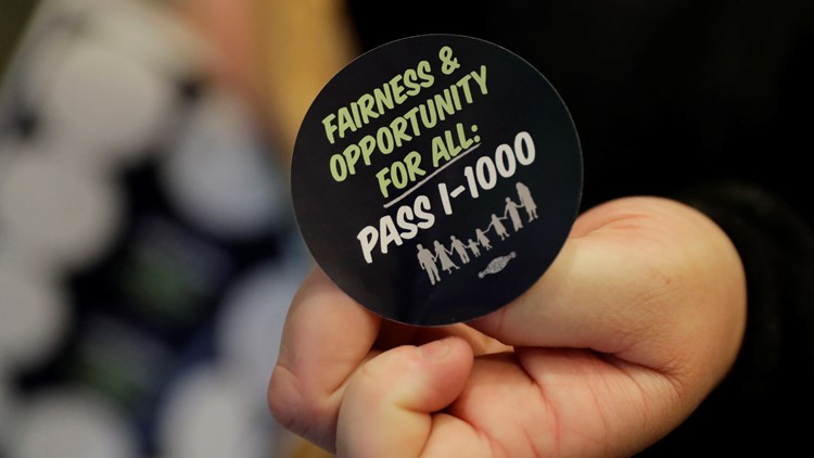 Washington lawmakers weigh reversing ban on affirmative action