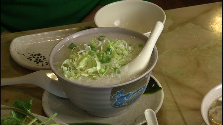Congee at Mike's Noodle House