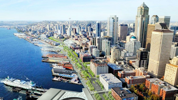 See the vision for Seattle's waterfront without a viaduct