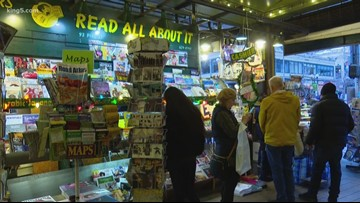 'End of an era': Pike Place Market newsstand to close after 40 years