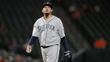 Hernández struggles for Mariners in 5-3 loss to Orioles