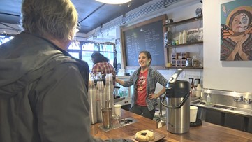 Coffee shop in Seattle's South Park neighborhood practices 'radical hospitality'