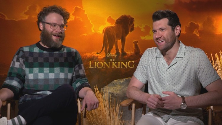 Billy Eichner and Seth Rogen shine as comedy duo in Disney's The Lion King