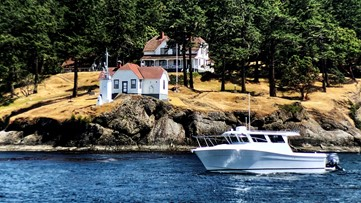Explore the San Juan Island that has a population of 20
