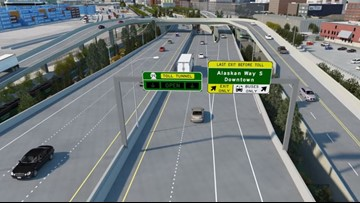 New SR 99 downtown off-ramp opens for Tuesday commute