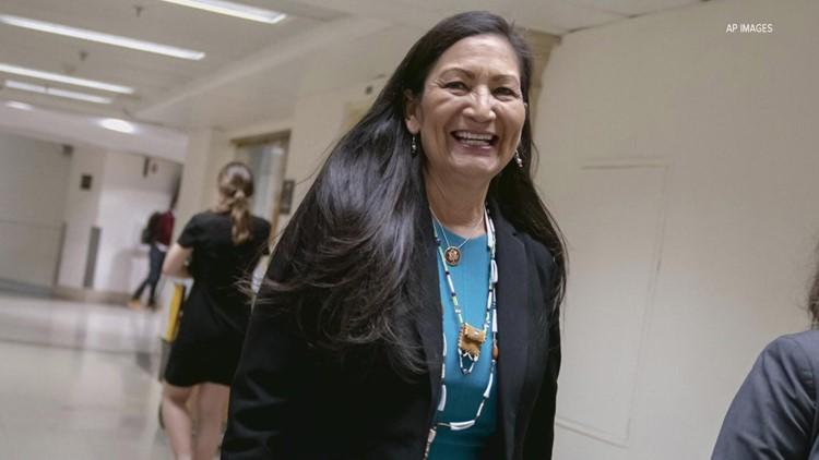 Deb Haaland makes history as first Native American Interior Secretary