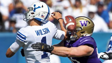 No. 22 Washington dominates BYU for 45-19 victory